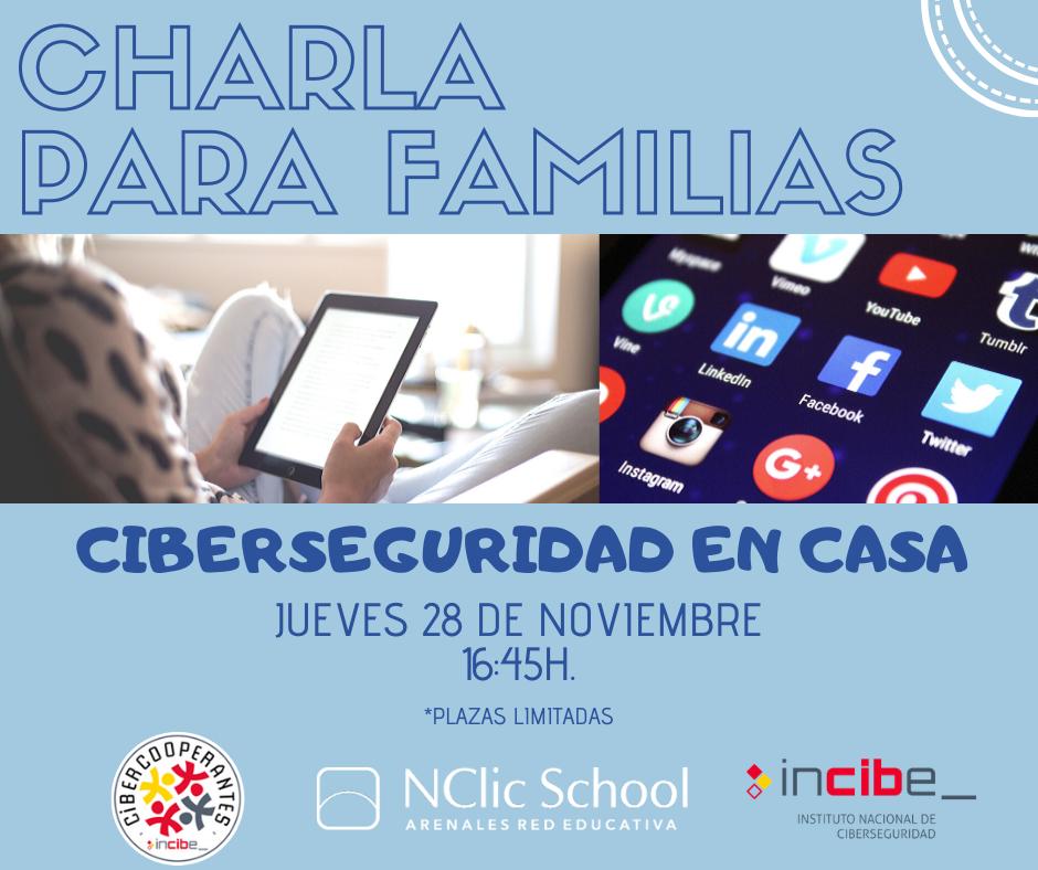 Charla de Ciberseguridad para familias