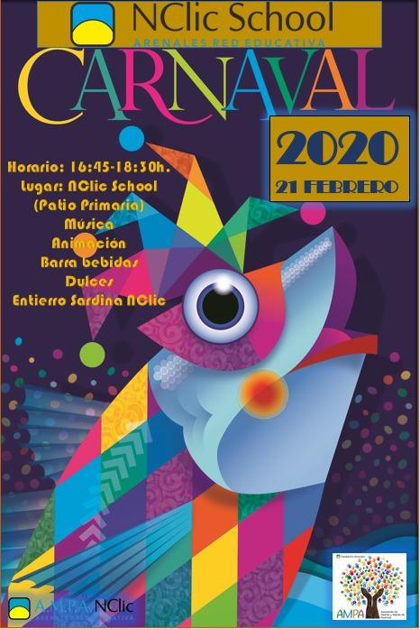 Fiesta de Carnaval 2020 – AMPA