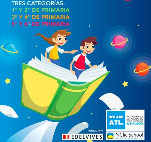 Concurso de cuentos infantiles #YoMeQuedoEnCasa