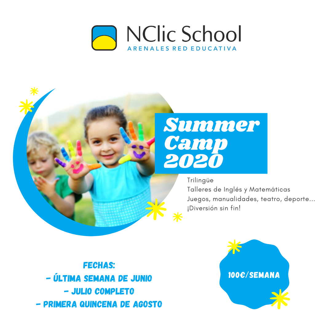 Campamentos de verano y septiembre 2020
