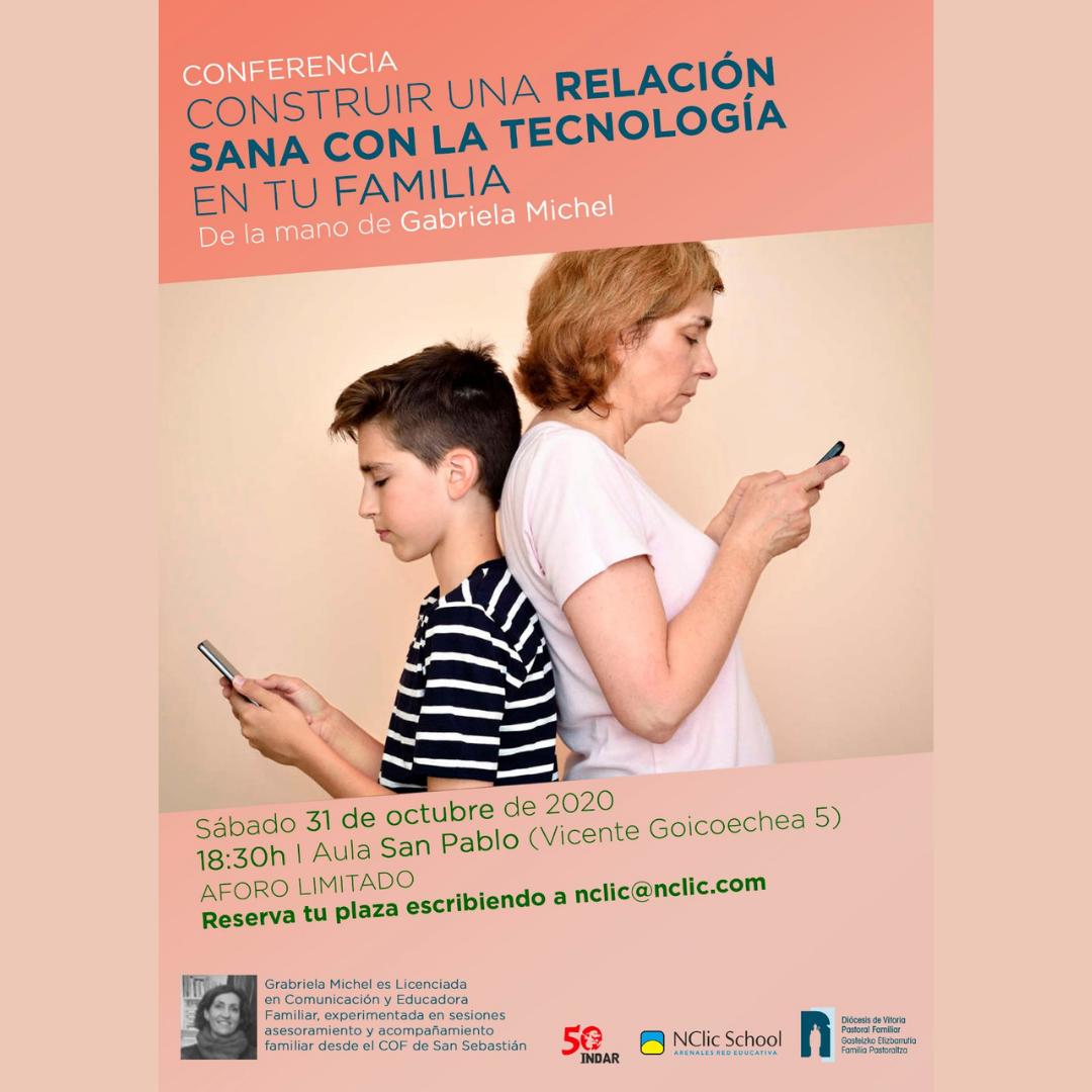 Interesante charla con Gabriela Michel: «Construye una relación sana con la tecnología en tu familia»